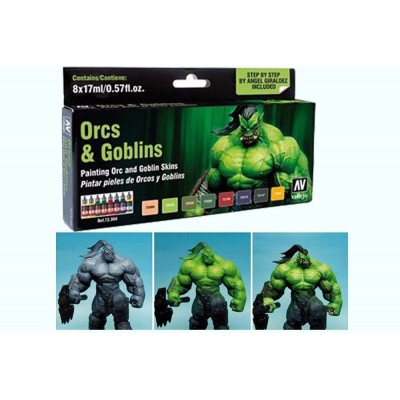 GAME COLOR SET: ORCOS Y GOBLINS