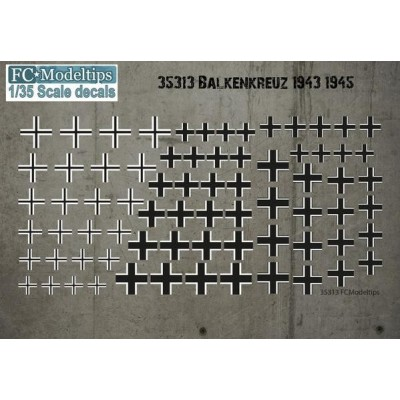 BALKENKRUEZ 1943 - 1945 1/35