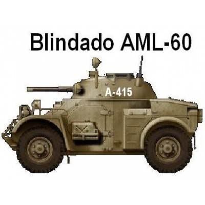 SET COLORES VEHICULOS BLINDADOS AML-60 / 90 Sáhara