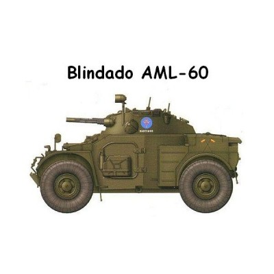 SET COLORES VEHICULOS BLINDADOS AML-60