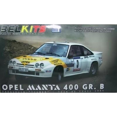 OPEL MANTA 400 GR.B 1/24 - Belkits BEL008