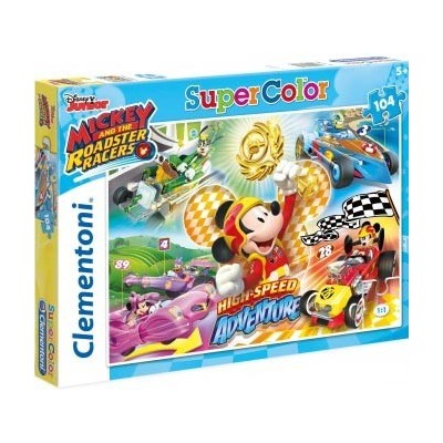 PUZZLE 104 PZS MICKEY ROADSTER - CLEMENTONI 27085