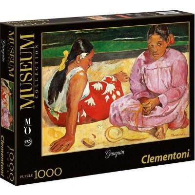 PUZZLE 1000 PZS MUJERES EN LA PLAYA - GAUGIN - CLEMENTONI 39433