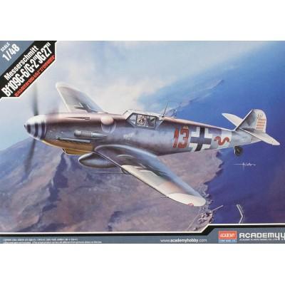 MESSERSCCHMITT Bf-109 G6 / G2 -JG.27- 1/48 - ACADEMY 12321