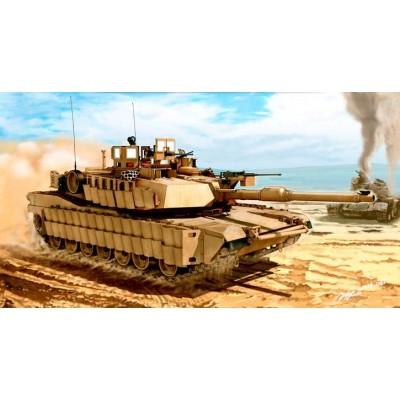M1A2 ABRAMS V2 TUSK II - ESCALA 1/35 - ACADEMY 13504