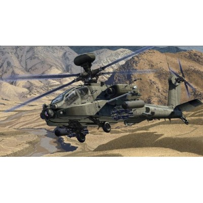 BOEING AH-64D APACHE BRITISH ARMY AFGHANISTAN - ESCALA 1/72 - ACADEMY 12537