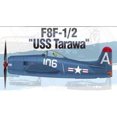 GRUMMAN F8F-1/2 BEARCAT U.S.S. TARAWA - 1/48 - ACADEMY 12313