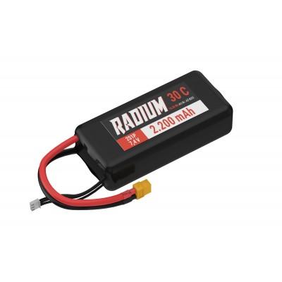 BATERIA LIPO 7.4V 2200MAH 30C CONECTOR XT60 - YUKI AZ-8025