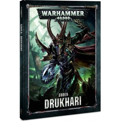 CODEX DRUKHARI ESPAÑOL - GAMES WORKSHOP 4501 - 2018