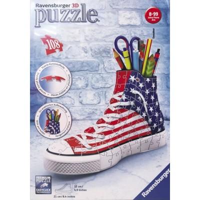 PUZZLE 3D 108 pzas. PORTALAPICES USA - RAVENSBURGER 12549