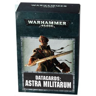 DATACARDS: ASTRA MILITARUM - GAMES WORKSHOP 47-02-03