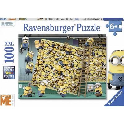 PUZZLE 100 PZS XXL MINIONS - RAVENSGURGER 10785