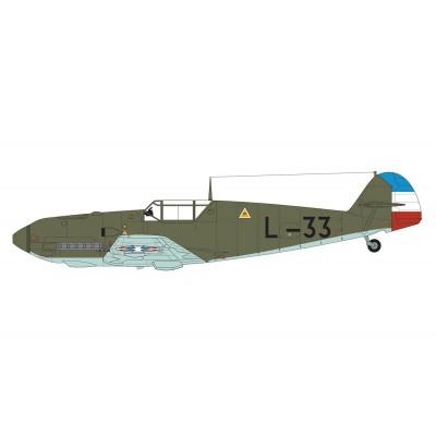 MESSERCHMITT Bf-109 E-4 / E-1 1/48 - Airfix A05120M