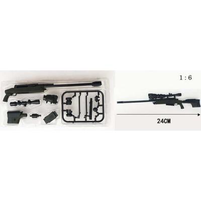 RIFLE FRANCOTIRADOR TAC-50 - ESCALA 1/6 - 4D MODEL GUN 05