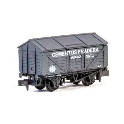 VAGON MERCANCIAS CERRADO -Cementos Fradera- N - Peco NR-P938