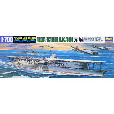 PORTAAVIONES AKAGI 1/700 - Hasegawa 201