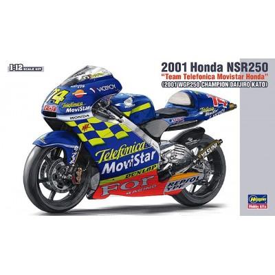 HONDA NSR250 -2001 Team Telefonica Movistar Honda- 1/12 - Hasegawa BK-2