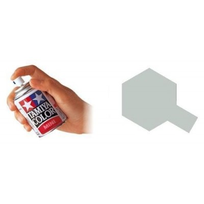 SPRAY ESMALTE TS-30 PLATA (100 ml) - Tamiya TS30