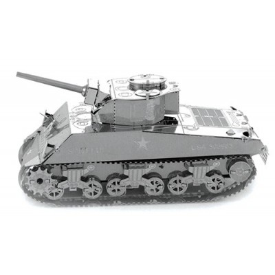 CARRO DE COMBATE SHERMAN KIT 3D METAL MODEL