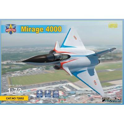 DASSAULT MIRAGE 4000 1/72 - MoldesVit 72052