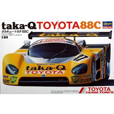 TOYOTA 88C TAKA-Q - ESCALA 1/24 - HASEGAWA 20237