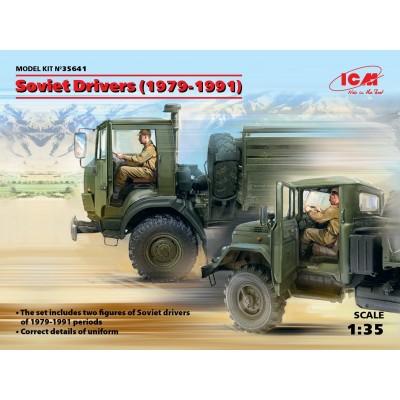 CONDUCTORES CAMIONES SOVIETICOS 1/35 - ICM 35641