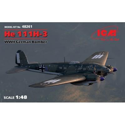 HEINKEL HE-111 H-3 - ICM 48261