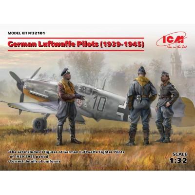 PILOTOS DE LA LUFTWAFFE -1939 - 1945- 1/32 - ICM 32101