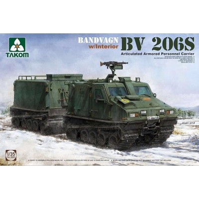 TRANSPORTE DE TROPAS BV-206S 1/35 - Takom 2083