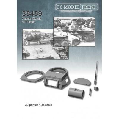 SET TRANSFORMCION PANZER I EN BREDA -20 mm- FC Modeltips 35459