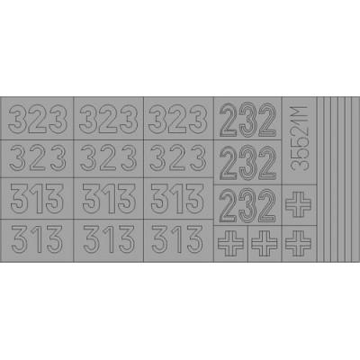 MASCARAS TIGER I 1/35 - Eduard XT055