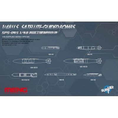 BOMBAS GUIADAS POR SATELITE U.S. - Meng Model SPS-045