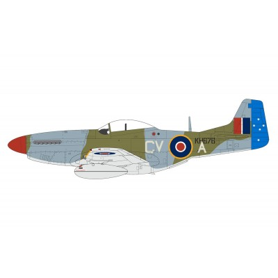NORTH AMERICAN P-51 MUSTANG MK-IV 1/48 - Airfix A05137