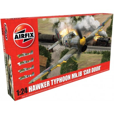 HAWKER TYPHOON MK-I b (Car door) 1/24 - Airfix A19003