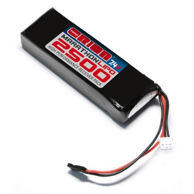 PACK RECEPTOR LIPO 7.4V 2500MAH (90x30x17mm) - TEAM ORION 12260