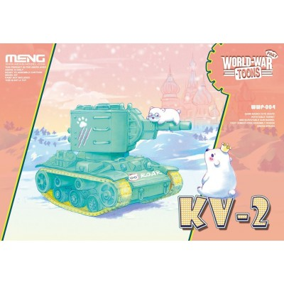 CARRO KV-2 -TOONS- Meng Model WWP-004