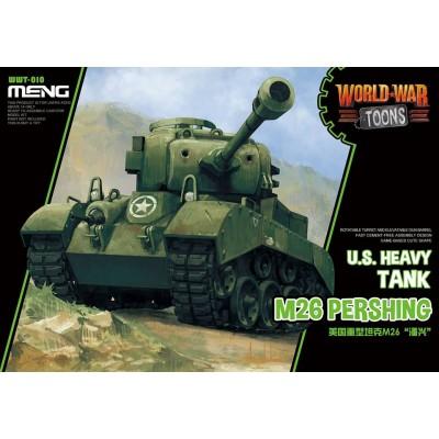 CARRO DE COMBATE M-26 PERSHING -TOONS- Meng Model WWT-010