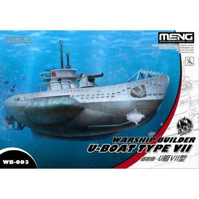 SUBMARINO Type IV C -TOONS- Meng Model WB002