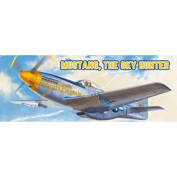 NORTH AMERICAN P-51D MUSTANG ESCALA 1/48 MENG MODEL
