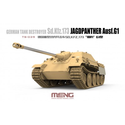 CAZA CARROS Sd.Kfz. 173 JagdPanther Ausf.G 1/35 - Meng Model TS-039