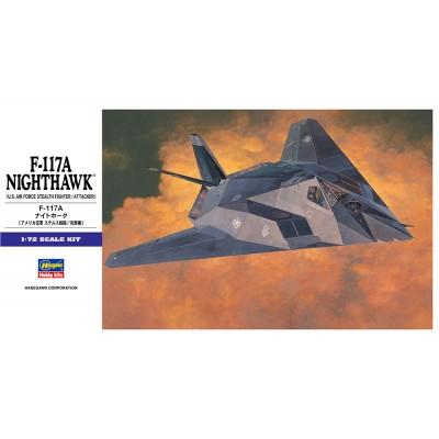 LOCKHEED F-117 NIGHTHAWK 1/72 - Hasegawa E1