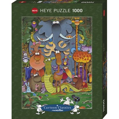 PUZZLE 1000 pzas MORDILLO, PHOTO - Heye 29284