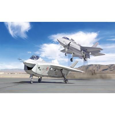BOEING X-32A Y LOCKHEED MARTIN X-35 A LIGHTNING - ESCALA 1/72 - ITALERI 1419