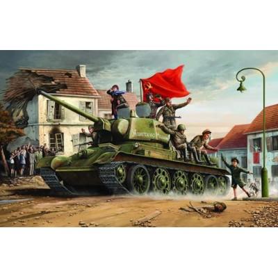 CARRO DE COMBATE T-34/76 (1943) 1/16 - Trumpeter 00903