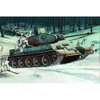 CARRO DE COMBATE T-34/76 (1.942) 1/16 - Trumpeter 00905