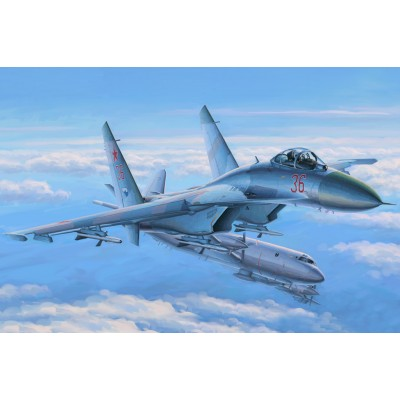 SUKHOI SU-27 FLANKER EARLY- Hobby Boss 81712