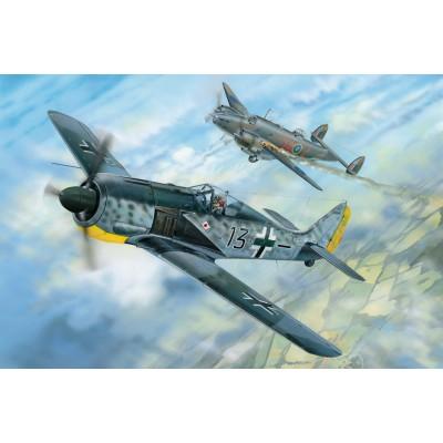 FOCKER WULF Fw-190 A8, Pips Priller - Hobby Boss 81802