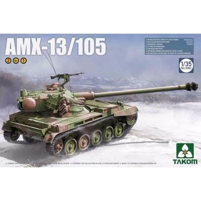 CARRO DE COMBATE AMX-13/105 - Takom 2062