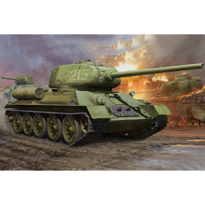 CARRO DE COMBATE T-34/85 1/16 - Hobby Boss 82602