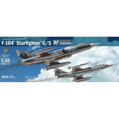 LOCKHEED F-104 G/S STARFIGHTER - ESCALA 1/32 - ITALERI 2514
